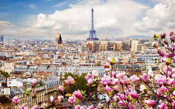 Zájezd do Paříže s ubytováním na 1 noc a snídaní