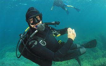 4denní kurz potápění pro začátečníky