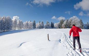 Zimní Vysočina v penzionu s polopenzí