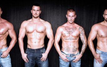 Smyslná show striptérské skupiny Dirtyy Boyzz