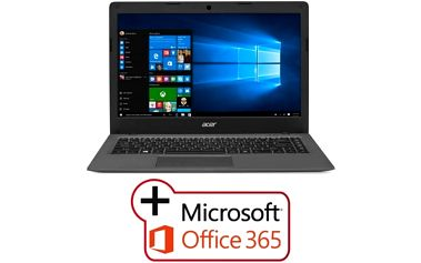 "Acer Aspire One Cloudbook 14 (AO1-431-C9RX) Celeron N3050/2GB+N/eMMC 64GB+N/HD Graphics/14"" HD/BT/W10 Home/Dark Grey"