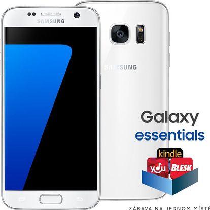 Samsung Galaxy S7 - 32GB, bílá - SM-G930FZWAETL + Zdarma Oral B Genius PRO 8000 chytrý zubní kartáček (v ceně 4699,-)