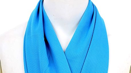 Dokonalé osvěžení po sportovním výkonu: chladící ručník, výběr ze 2 barev modrá nebo růžová