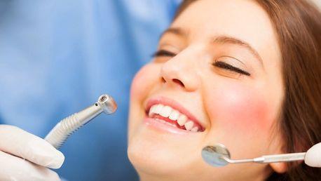Pečlivá dentální hygiena s air flow i bez