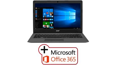 Notebook Acer One Cloudbook 14 (AO1-431-C9RX) (NX.SHGEC.002) šedý