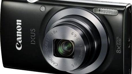 Digitální kompakt Canon IXUS 160 Black + pouzdro