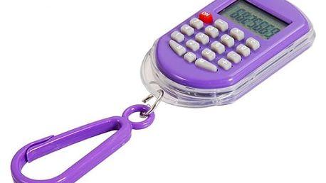 Digitální hodinky s kalkulačkou - přívěšek na klíče - dodání do 2 dnů