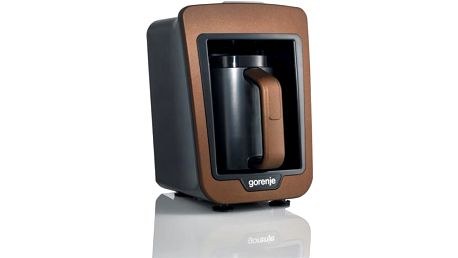 Kávovar pro tureckou kávu Gorenje ATCM730T hnědý + dárek