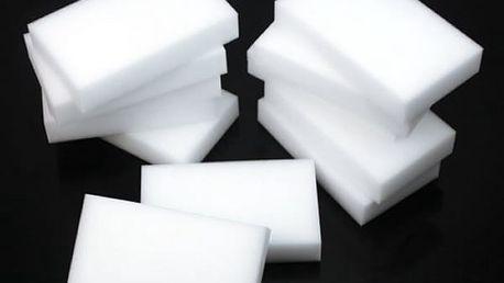 Praktická melaminová Nano čistící houba, super pomocník na vánoční úklid.