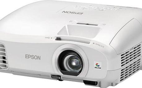 Epson EH-TW5210 - V11H708040 + Plátno NOBO, 16:10, 200x135 v ceně 1990 Kč