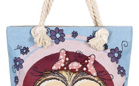 Fashion Icon taška Sovička holčička lněná