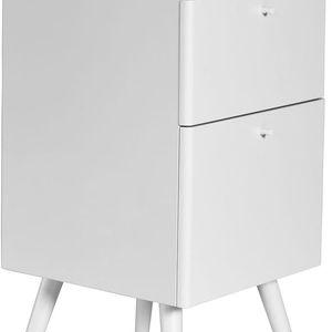 Kancelářské zásuvky Niles, 59x40 cm, bílé - doprava zdarma!