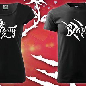 Beauty & Beast: Párová trička pro něj i pro ni