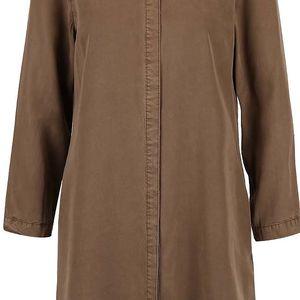 Khaki dlouhá košile Vero Moda Alexia