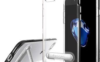 Spigen Crystal Hybrid pro iPhone 7, black - 042CS20671