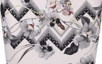 Pudrově růžová vzorovaná sukně Miss Selfridge