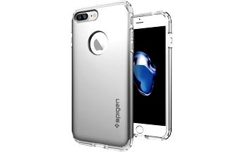 Spigen Hybrid Armor pro iPhone 7+, satin silver - 043CS20698