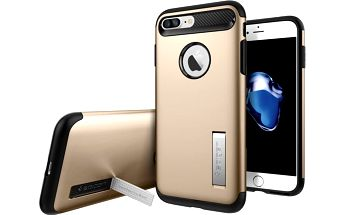 Spigen Slim Armor pro iPhone 7+, champagne gold - 043CS20310