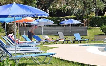 Aparthotel Sun Village, Řecko, Korfu, 8 dní, Letecky, Bez stravy, Alespoň 3 ★★★, sleva 22 %, bonus (Změna destinace zdarma, Rezervace zájezdu za 1 500 Kč/os)