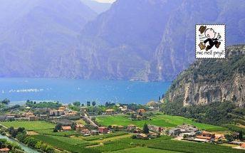 Lago di Garda na léto s polopenzí a bazénem