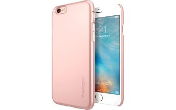 Spigen pouzdro Thin Fit pro iPhone 6/6s, rose gold - SGP11766
