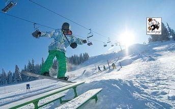 Rakouské Alpy u lyžařského střediska