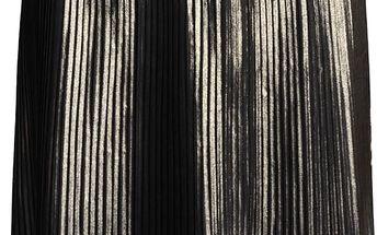 Plisovaná sukně ve zlaté barvě Vero Moda Plea