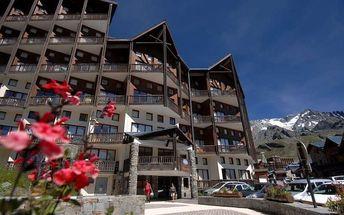 Francie - Val Thorens na 15 dní, bez stravy s dopravou vlastní