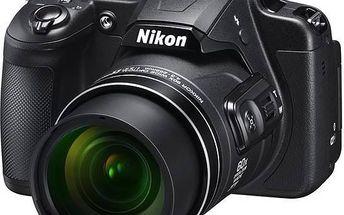 Digitální fotoaparát Nikon Coolpix B700 černý + Doprava zdarma
