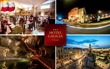 Toulky Polskem s hotelem Galicja *** u solného dolu Vielička, kousek od Krakova