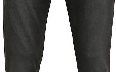 Tmavě šedé vyšisované slim fit džíny Blend