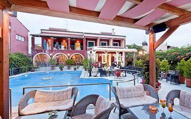 Hotel Omiros, Řecko, Korfu, 8 dní, Letecky, Polopenze, Alespoň 3 ★★★, sleva 24 %, bonus (Levné parkování u letiště: 8 dní 499,- | 12 dní 749,- | 16 dní 899,- )