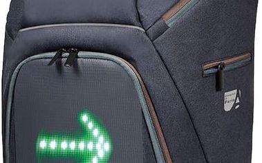 Port Designs GO LED batoh na 15,6'' notebook a 10,1'' tablet, šedo-hnědá - 202330