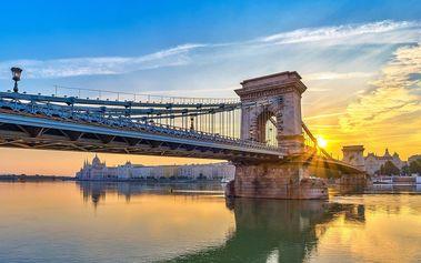 Budapešť plná relaxu v 4* hotelu se saunou a jacuzzi, dítě do 12 let zdarma