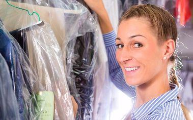 Voucher v hodnotě až 200 Kč na služby čistírny