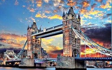 Londýn, Stonehenge a Oxford. 5 denní zájezd s ubytováním, průvodcem a snídaní