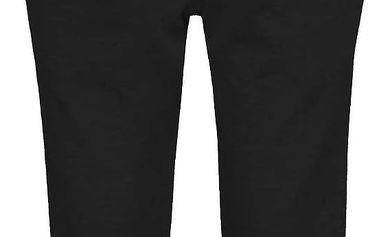Černé holčičí elastické kalhoty se sklady name it Line