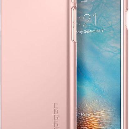 Spigen pouzdro Thin Fit pro iPhone 6/6s, rose gold - SGP11766