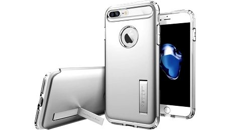 Spigen Slim Armor pro iPhone 7+, satin silver - 043CS20313