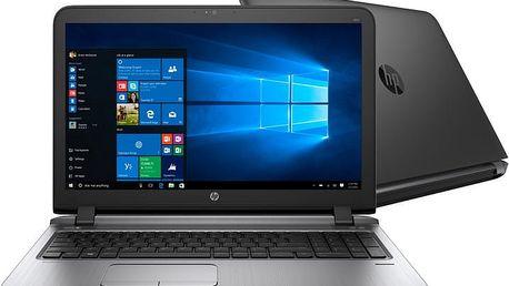 HP ProBook 450 G3, černá - T6R23ES + Microsoft Office 365 pro domácnosti - 1 rok v ceně 2299 Kč + Sleva 1kč