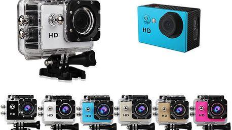 Vodotěsná sportovní kamera - FULL HD 1080P