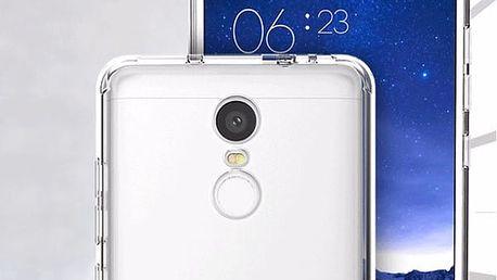 Průhledné pouzdro z pružného plastu Pro Xiaomi Redmi note 3 a note 3 Pro