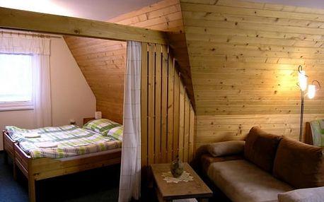 Beskydy, 3-6 dní v apartmá pro 3 osoby + sleva na wellness, vlek hned u vily, platí do 6/17
