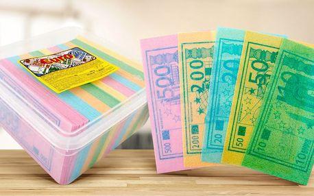 Originální cukrovinka: Peníze z jedlého papíru