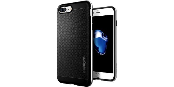 Spigen Neo Hybrid pro iPhone 7+, satin silver - 043CS20537