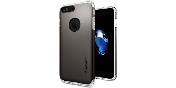 Spigen Hybrid Armor pro iPhone 7+, gunmetal - 043CS20697