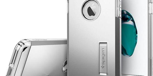 Spigen Tough Armor pro iPhone 7+, satin silver - 043CS20681