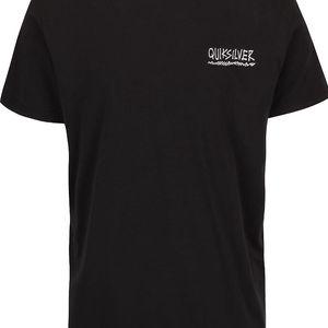 Černé pánské triko s potiskem Quiksilver Garm
