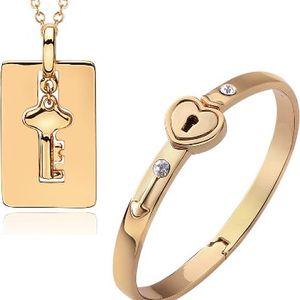 Zamilované šperky náramek a řetízek s klíčkem!