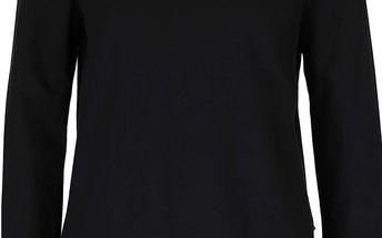 Černá mikina s všitou khaki košilí Noisy May Danni